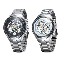 Venta caliente Lista de Amantes de Los Relojes de los Relojes Mecánicos Totalmente Automáticos Reloj Deportivo Reloj Automático Auto-Viento Reloj PT