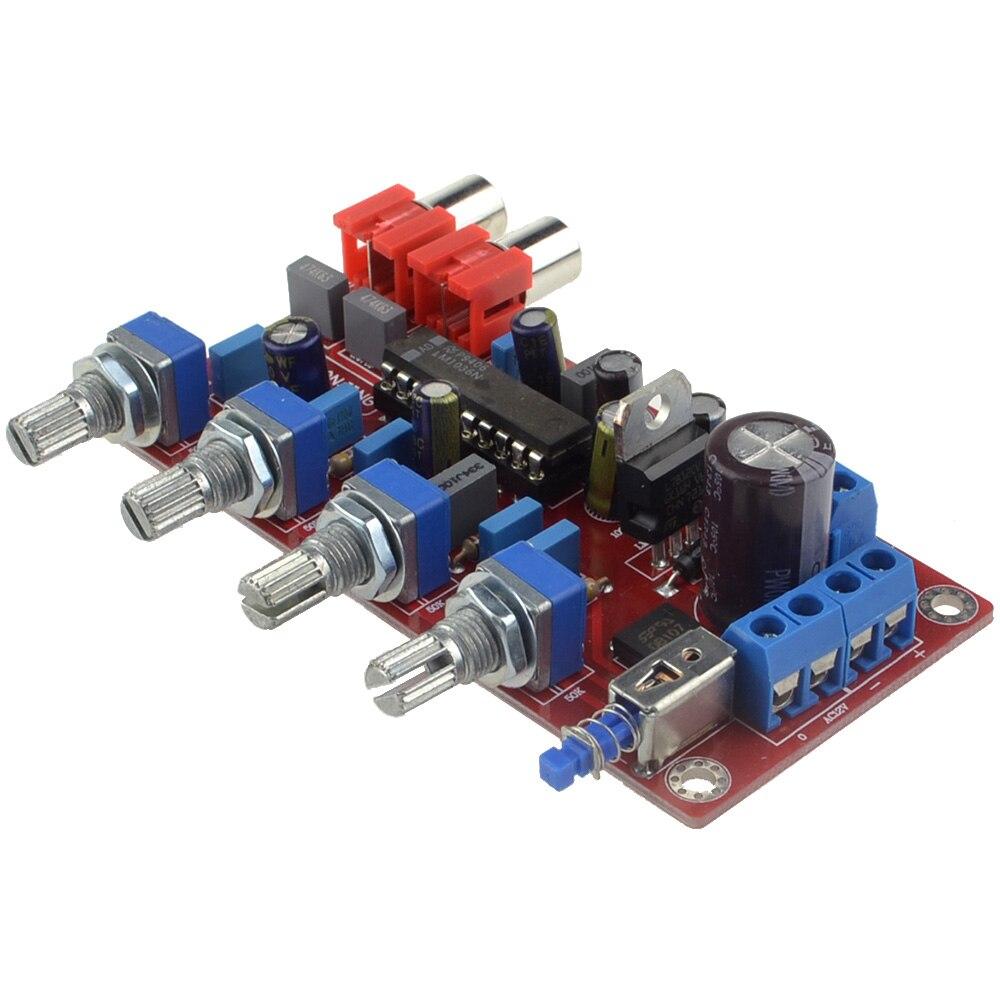 LM1036 OP-AMP HIFI Amplificateur Préamplificateur Volume Tone Commission De Contrôle EQ pour Amplificateur Livraison Gratuite avec Numéro de Piste 12003193