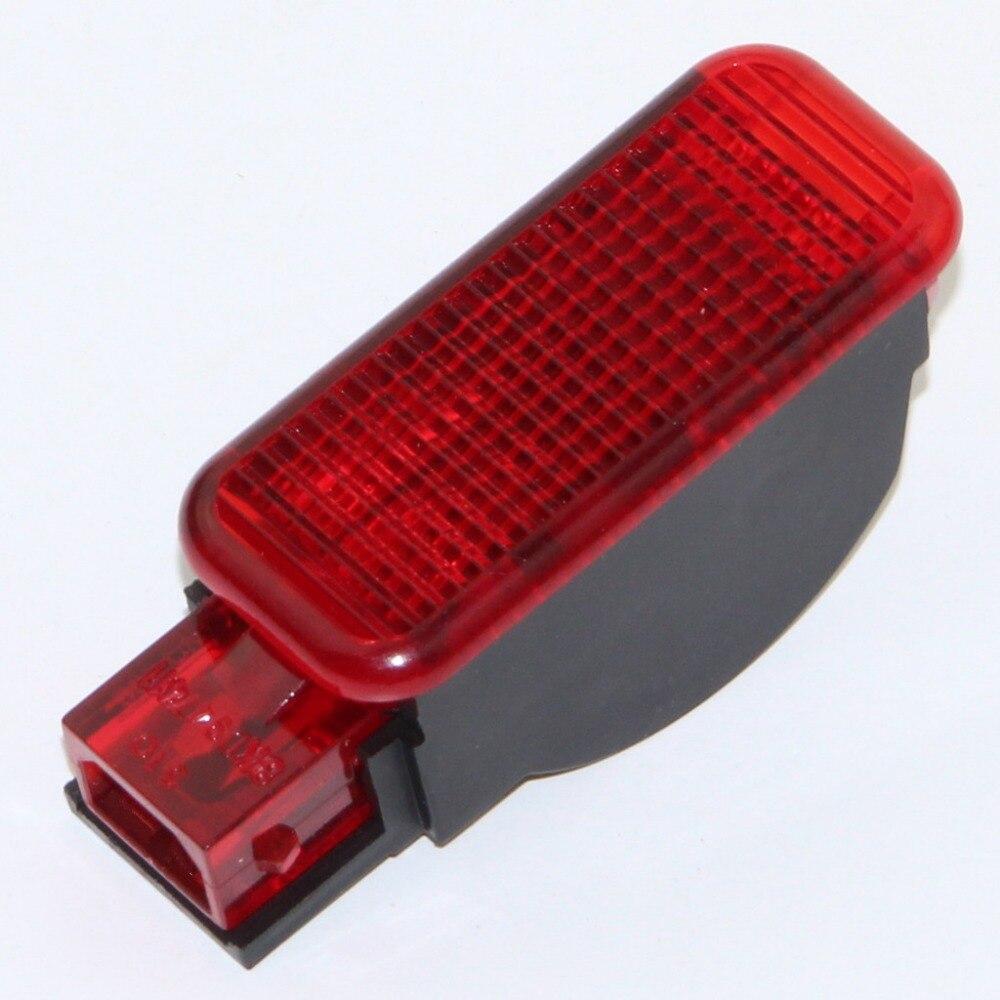 Car Door Panel Interior Red Warning Light For A3 A6 A5 A8 A4 Q3 Q5 A7 TT RSQ3 TTRS RS6 RS3 RS4 RS5 8KD 947 411 8KD947411
