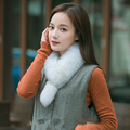 SCM045 Genuine real natural Raccoon Fox Fur Scarf Scarves Neck Warmer Wrap Cape Shawl Poncho Stole 72cm*10cm