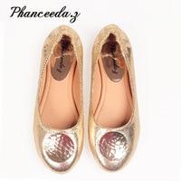 New 2018 Women Shoes Women huarache Ballet for Women's Flat Shoes Crystal Flats Casual Shoes Woman Drop Shipping