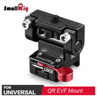 SmallRig Camera Monitor Stabilizer Quick Release EVF Holder Mount with Nato Clamp Can180 Degree Adjustment of Monitoring 2100