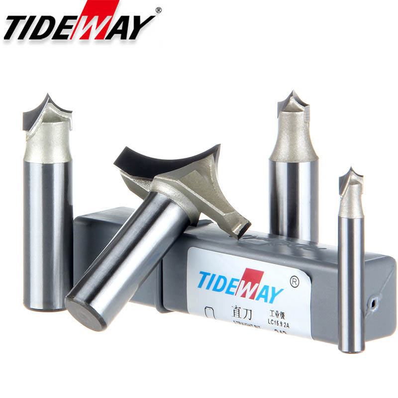 TideWay Point Cutting Round Over Bit Professional Grade Woodworking Carving Tool Tungsten Carbide Router Bit For Wood 1/2 Shank