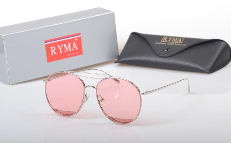 Gafas Frauen Neue Rahmen Pilot gray Sonnenbrille Brille Linse De Candy Shades Oculos Stil Yellow Titanium 2019 Sol Farbe Transparente pink dBYxqagg