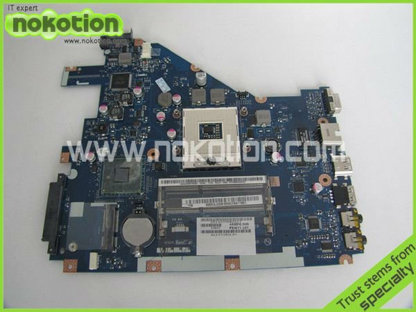 NOKOTION Laptop Motherboard for ACER 5742 NV55C MB.R4L02.001 MBR4L02001 PEW71 LA-6582P DDR3 Mainboard full work nokotion laptop motherboard for acer 5742 nv55c la 6582p intel hm55 integrated gma hd ddr3 mainboard