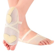 Dance Shoes Accessories Heel Protector Breathable Ballet Dance Socks Dancing Foot Thong Toe Pad