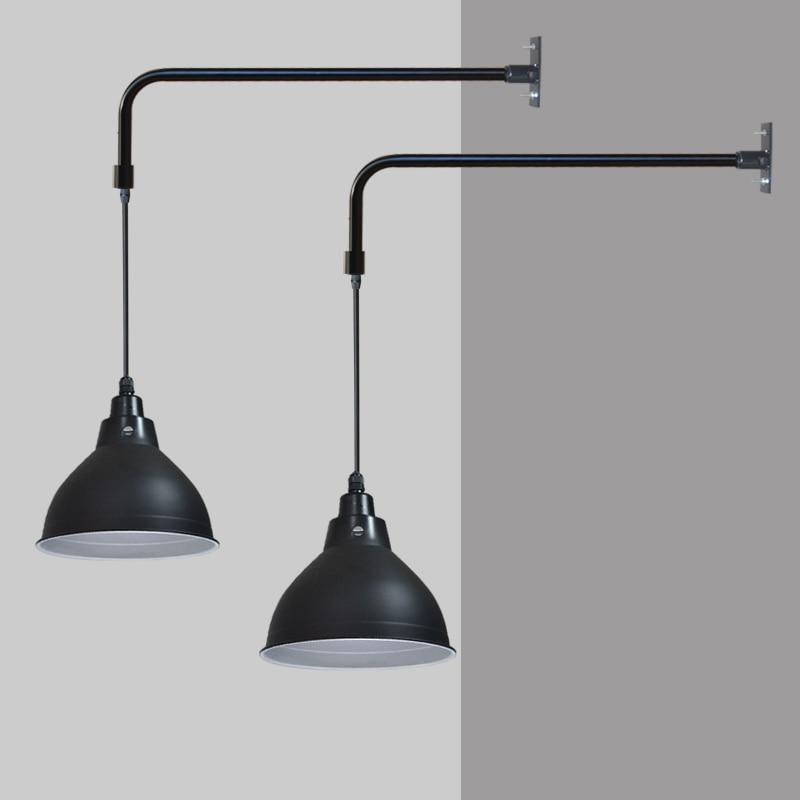 Industrie stil dekorieren schwarz bad beleuchtung lampe wand vintage ...