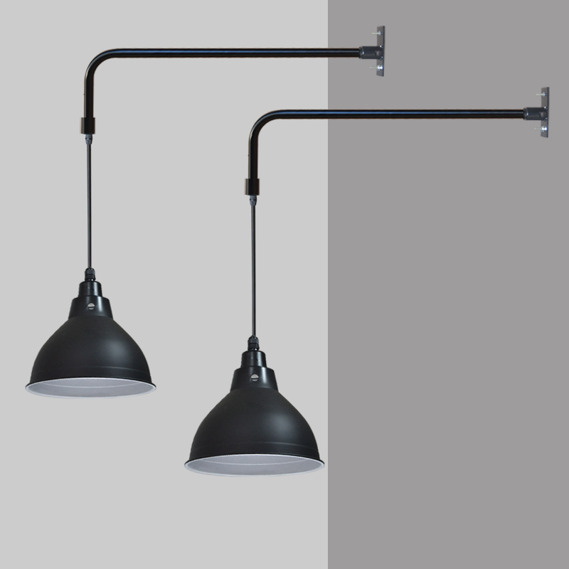 Industrial Style Decorating Black Bathroom Lighting Lamp Wall Vintage Modern Porch Lights Wall