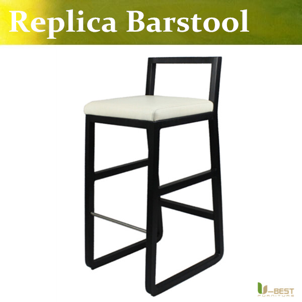 Free shipping U-BEST high quality  bar chair/bar stool/counter chair,Stratford Upholstered Bar Stools,Solid ash wood legs starbucks chair high stool bar chair high solid wood