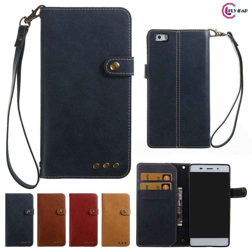 Мягкие Coque для huawei P8 Lite P8Lite ALE-L21 ALE-L23 случае Ретро Флип Бумажник Искусственная кожа Обложка для huawei P 8 Lite ALE-L02 сумка ...