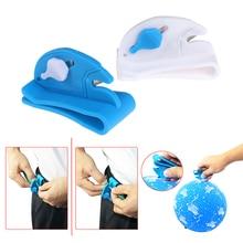 1 шт. воздушный шар ленточный резак инструменты для воздушных шаров фиксируется на поясе воздушный шар лезвие резка ленты поставка продуктов синий и белый