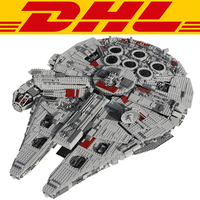 LEPIN 05033 5265Pcs Star Wars Ultimate Collector S Millennium Falcon Model Building Kit Blocks Bricks Toy