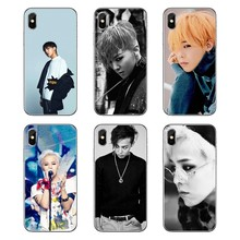 Soft Transparent Cases Covers K-POP Bigbang G-Dragon Fan Art For Samsung Galaxy Note 8 9 S9 S10 A8 A9 Star Lite Plus A6S A9S(China)