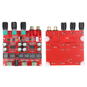 Image 3 - TPA3118 2.1 チャンネルデジタルステレオサブウーファーパワーアンプボード 2*30 ワット + 60 ワット DC12V 26V スピーカー