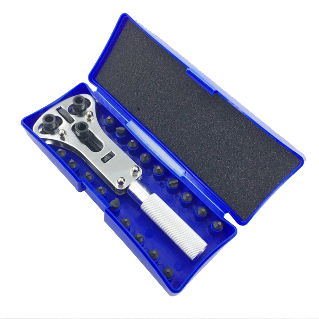 Adjustable Wrench Open Tool Watch Back Case Opener Watchmaker Base Screws Disassembly Watch Repair Tool цена