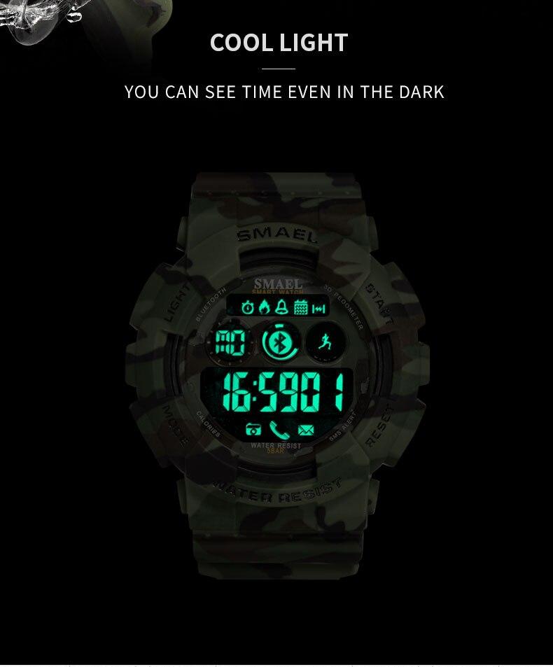 relógio digital led relógio 50 m à