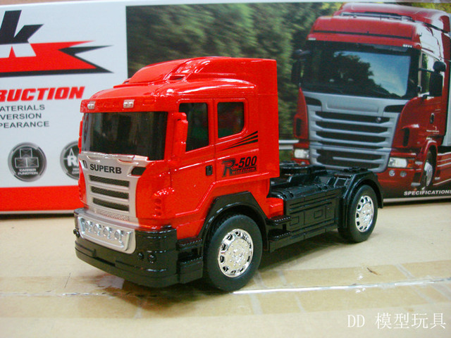High Quality Road Race Remote Control Truck Large Container Simulation RC  Truck Series Tractors Toys Gifts