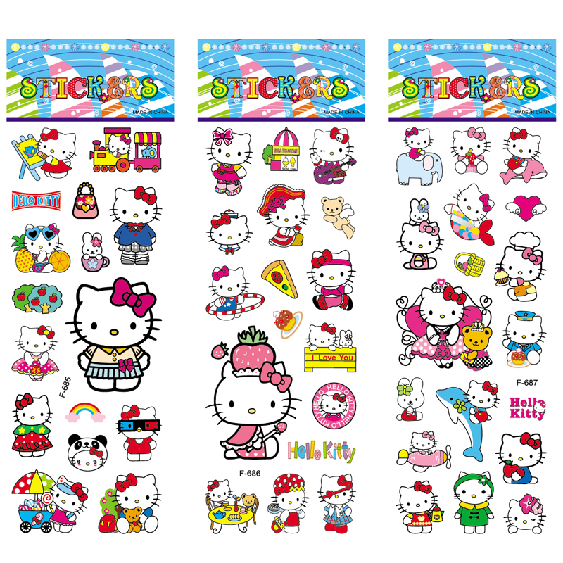 2019 New Cute Children Stereoscopic Stickers-Lot Of 5 Pcs Kids Favorite Gifts Us
