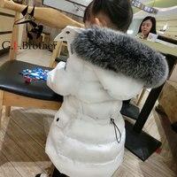 Пальто для маленьких мальчиков зимние для девочек пальто куртка для мальчиков детская верхняя одежда с капюшоном теплая одежда детские кур