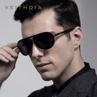 2018 VEITHDIA מגנזיום אלומיניום משקפי שמש גברים מקוטבים משקפיים שמש קלאסית זכר Eyewears אביזרי gafas Oculos דה סול 6500