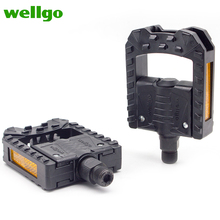 Wellgo F178 PC Black Folding Bicycle Pedals