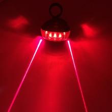 Велосипедный светодиодный светильник, 2 лазера, ночной горный велосипед, задний светильник, задний светильник MTB, Предупреждение о безопасности, велосипедный задний светильник, светильник для велосипеда