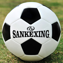 Hot Sale Black White Standard Soccer Ball