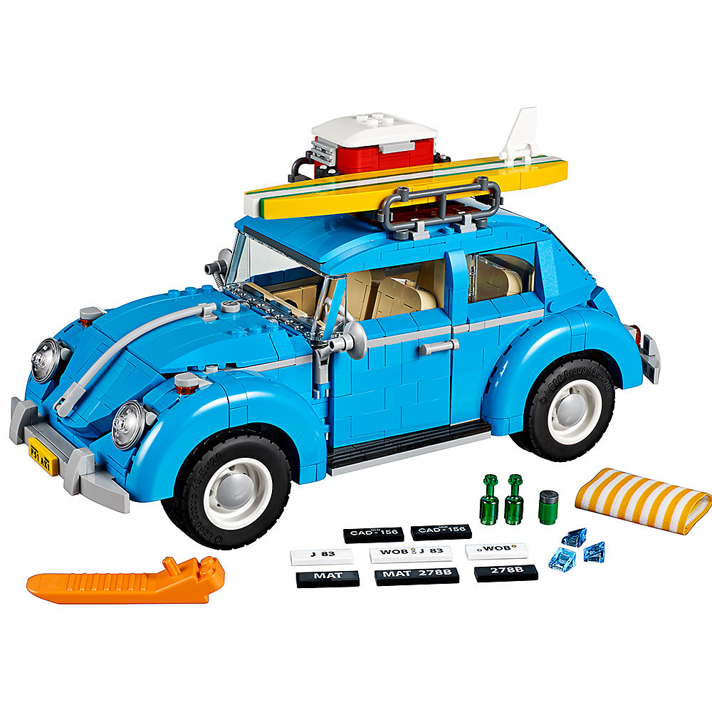 Volkswagene Beetle Creator Expert 10252 Car Vehicles Building Blocks toys for Childrens Bricks Model kid gift