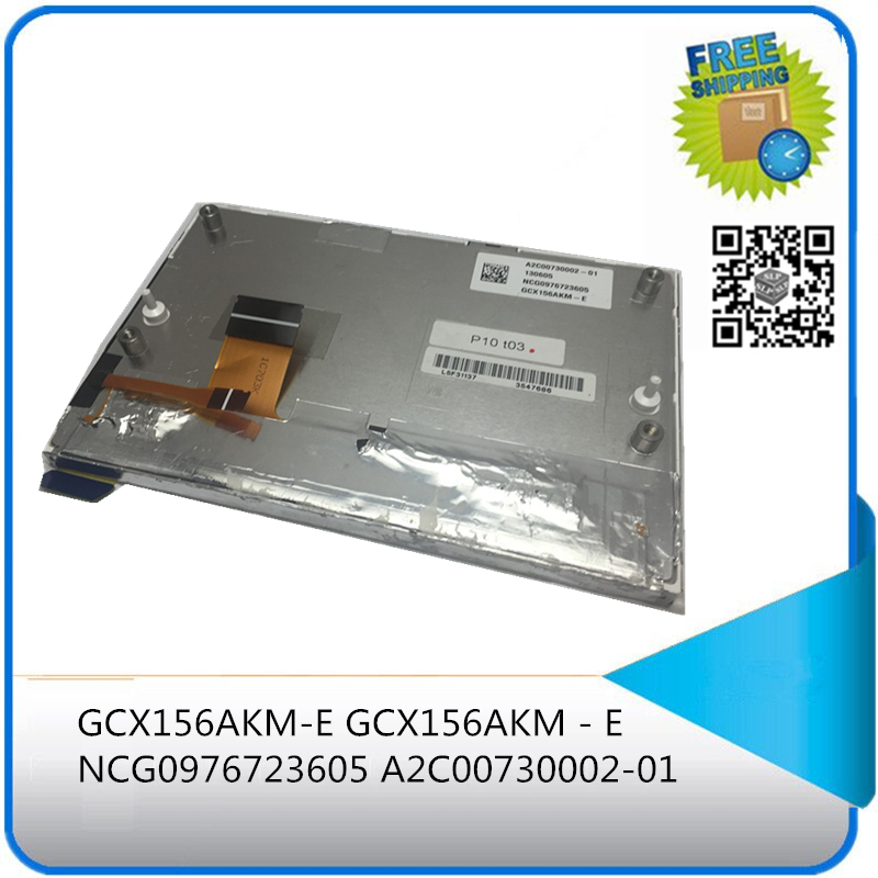( with track number ) LCD display panel for GCX156AKM-E GCX156AKM - E NCG0976723605 A2C00730002-01 130605 L5F31137 1C703K