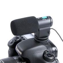 Камера мини внешний стерео микрофон Микрофон для Canon 600D 650D 700D 70D 5D II Nikon D3200 D5200 D800 D7100 D8100 DSLR