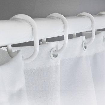 His  & Her Side Shower Curtain - Black & White Shower Curtain With Hooks Best Children's Lighting & Home Decor Online Store