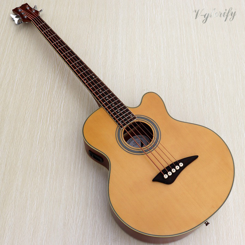 small problem factory made 5 string acoustic bass guitar with electrosmall problem factory made 5 string acoustic bass guitar with electro
