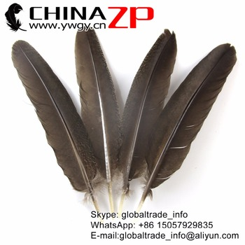 """CHINAZP Feather Wholesale retails 12"""" to 14"""" (30~35cm) 100pcs/lot Natural Peacock Wing Feather Headpiece Carnival Showing"""