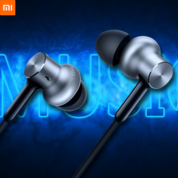 Original Xiaomi Mi In-ear Hybrid Earphones Pro Noise Cancelling Headset HD Dynamic Balanced Armature Driver Volume Control