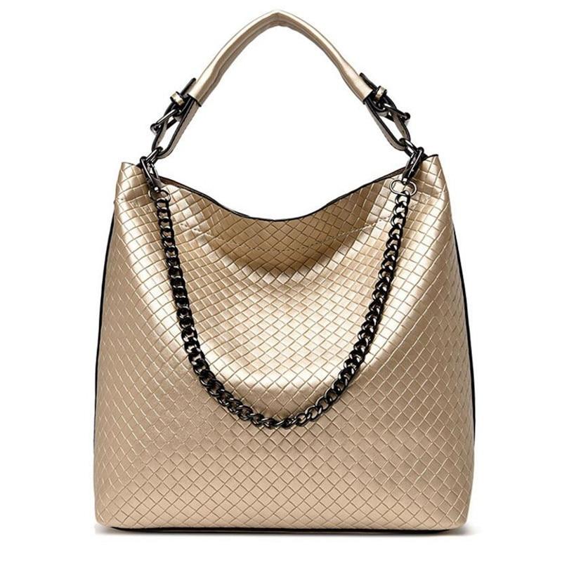 ФОТО Brand Fashion Chain Women Shoulder Bags Mobile Messenger Ladies Handbag PU Leather High Quality Diagonal Cross Body Bucket Bag