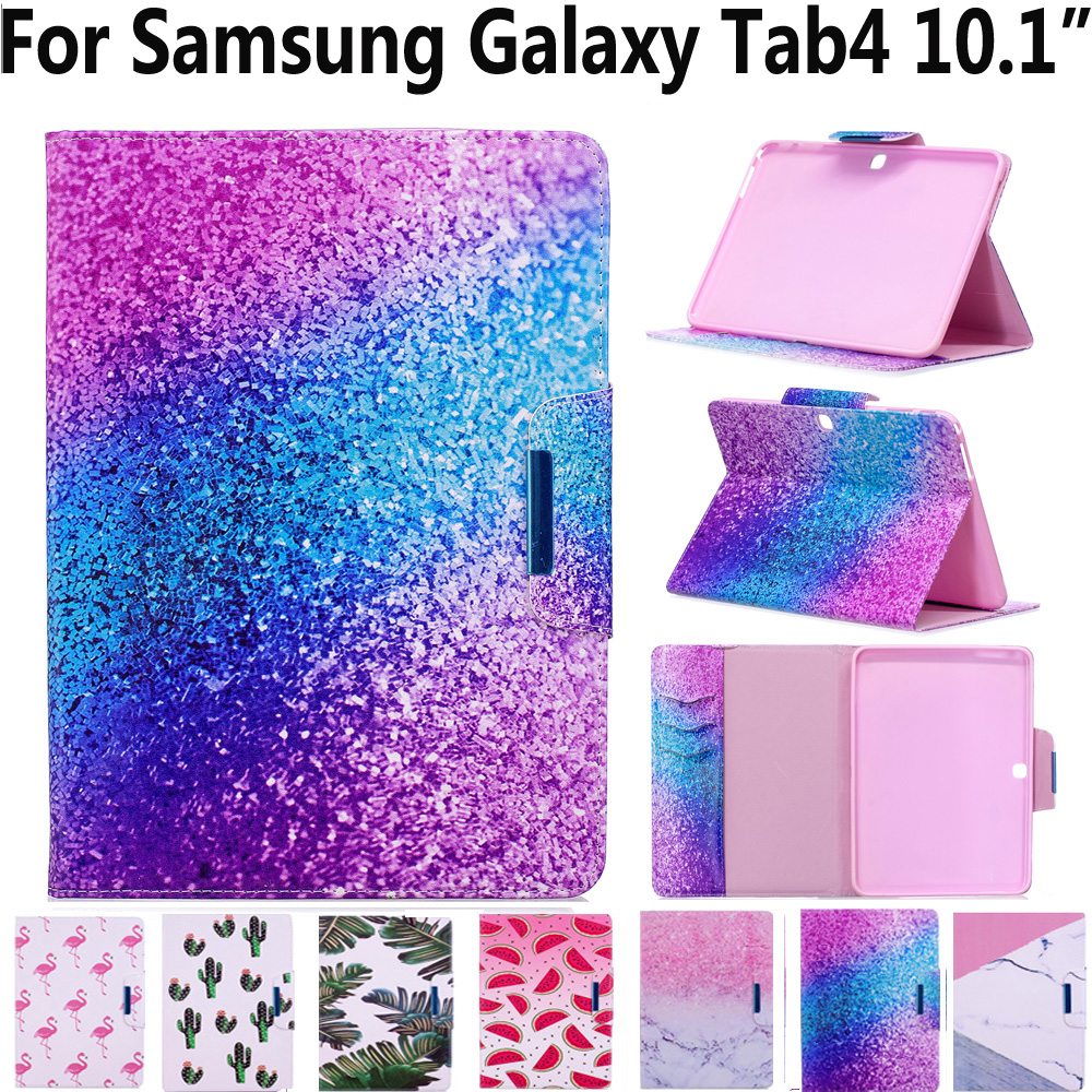 Tablet Cover Case for Samsung Galaxy Tab4 Tab 4 10.1 T530 T535 T531 Soft TPU Magnet Smart Case for Samsung Tab 4 10.1 with Pen стоимость