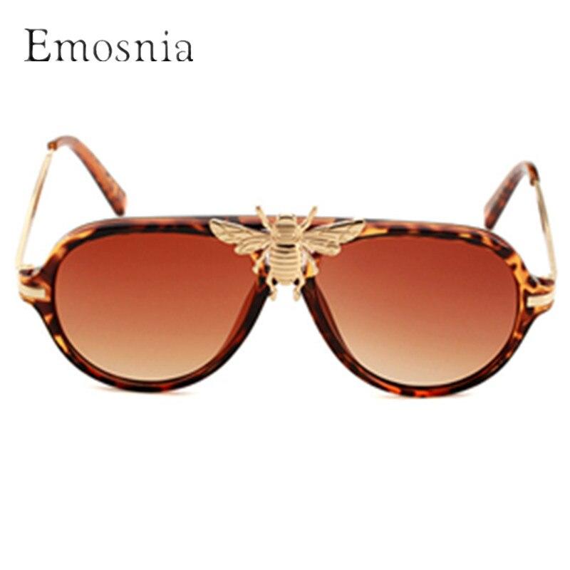 c6b65b336a Detail Feedback Questions about Emosnia Pilot Oval Modis Sunglasses Oculos Retro  Bee Women Men Brand Designer Luxury 2019 Sun Glasses Shades Festival Gift  ...