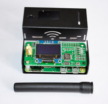 jumbospot MMDVM hotspot Support P25 DMR YSF + raspberry pi +OLED +Antenna + Black Case +16G TF card READY TO QSO(China)