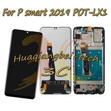 Per Huawei P di smart 2019 POT LX1/POT LX1AF/POT LX2J POT LX1RUA POT LX3 DIsplay LCD Touch Screen Digitizer Assembly Con Telaio