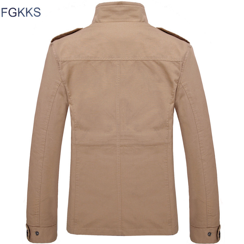 FGKKS Brand Men Jacket Coats Fashion Trench Coat New Autumn Casual Silm Fit Overcoat Black Bomber FGKKS Brand Men Jacket Coats Fashion Trench Coat New Autumn Casual Silm Fit Overcoat Black Bomber Jacket Male