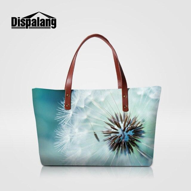 Dispalang Fashion Women Causal Bags Flower Print Ladies Handbags Large  Shoulder Bags Female Big Capacity Tote Satchel Bolsa