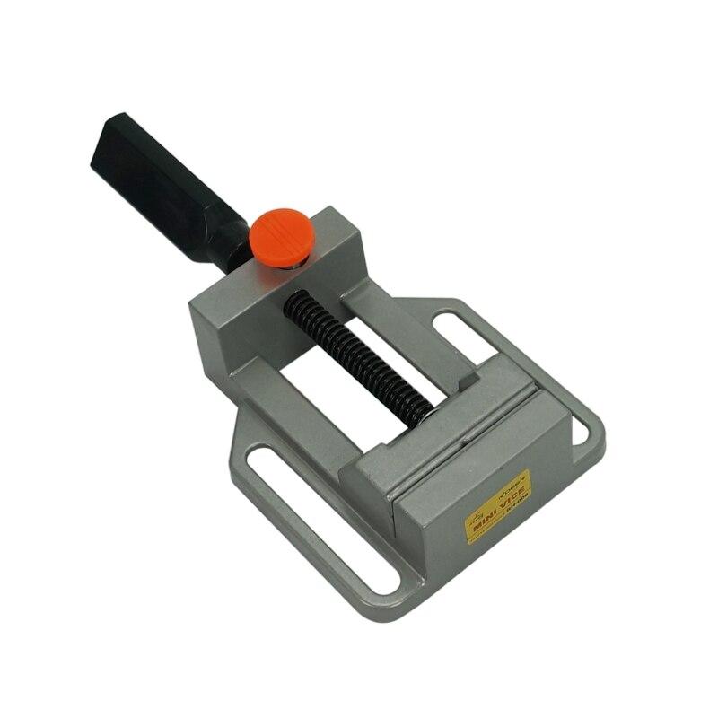 Aluminium alloy Flat tongs Vice cnc Milling Machine Bench drill Vise Fixture wood router engraver machine tool Числовое программное управление