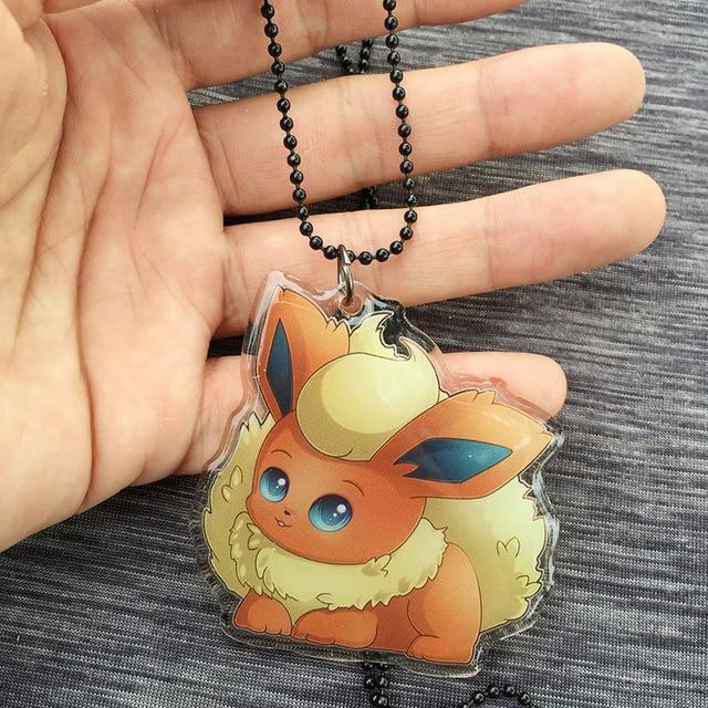 Аниме акриловый кулон и брелок Pokemon Go Флареон