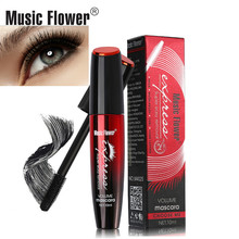 Brand 24 Hours Waterproof Mascara Lasting Super Easy Removal 3D Volume Mascara Liquid Black CurlingThick Long Eye Lashes все цены