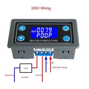 XY-WJ01 односторонние реле, модуль, триггер петля задержки, таймер, выключатель, электрическое оборудование, расходные материалы, реле