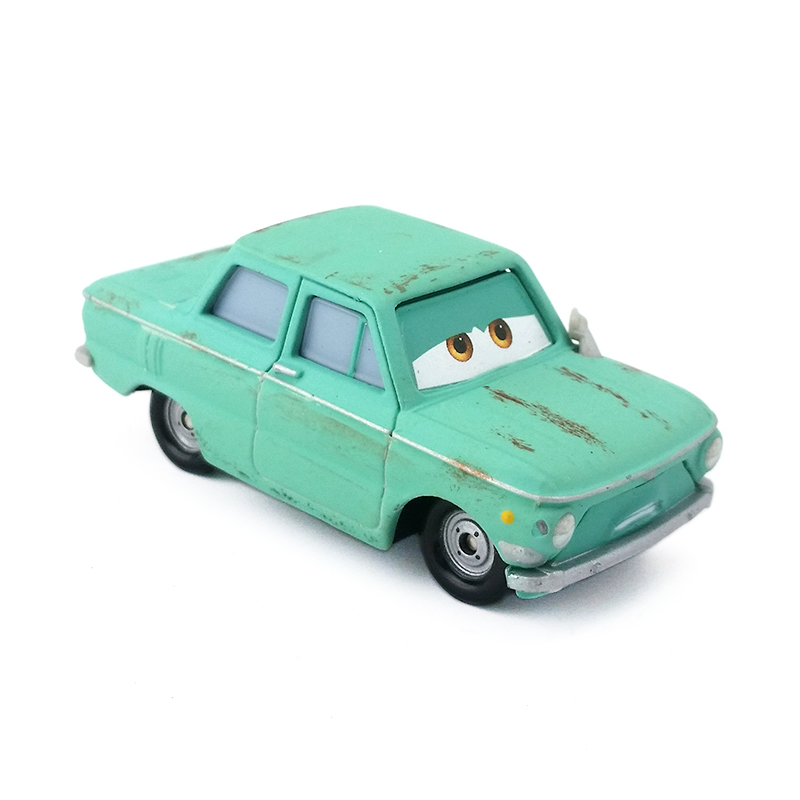 Disney Pixar Cars 2 Petrov Trunkov Radiator Springs Toy Racing Car Diecast New
