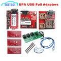 2017 New ECU Programming UPA-USB V1.3 OBD2 Serial Programmer UPA USB Full Adapters EEPROM&MICROCHIP 1Year Warranty Fast Shipping