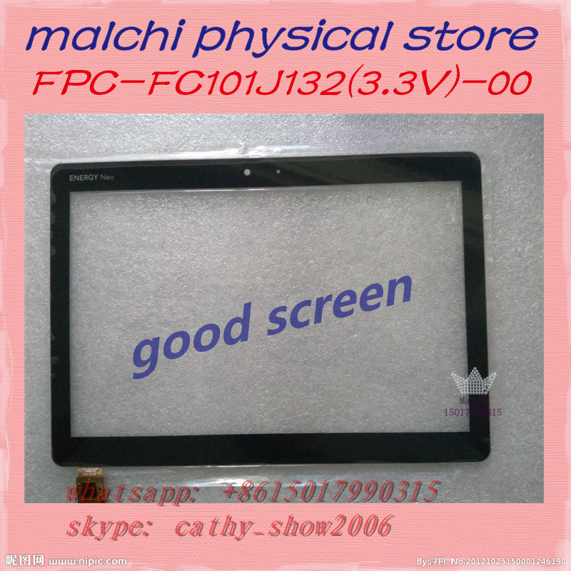 -00 1.0v 1.8v Capacitive Touch Screen Panel Digitizer Glass Sensor Replacement Famous For Selected Materials 3.3v Novel Designs Modest 10.1 Energy Neo 2 Fpc-fc101j132 Delightful Colors And Exquisite Workmanship