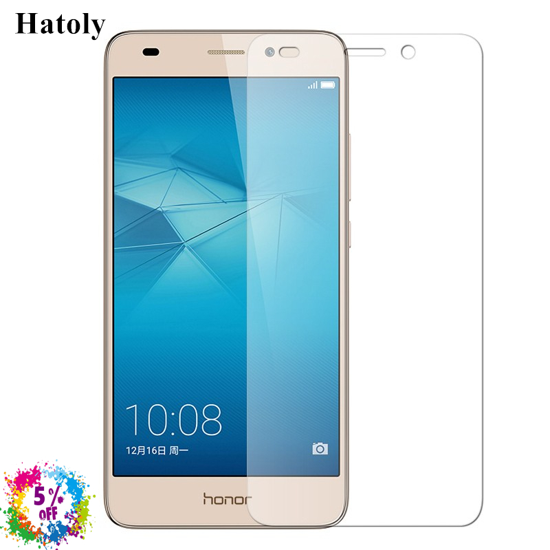 2PCS Glass Huawei Honor 5C Tempered Glass 2.5D 9H Screen Protector For Huawei Honor 7 Lite/GT3 Film Huawei Honor 5C Glass HATOLY