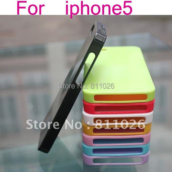 free ship! for iphone 5 TPU shinning Case for iphone 5,Gel TPU Silicone Case Style for iphone5,high quality,30pcs/Lot